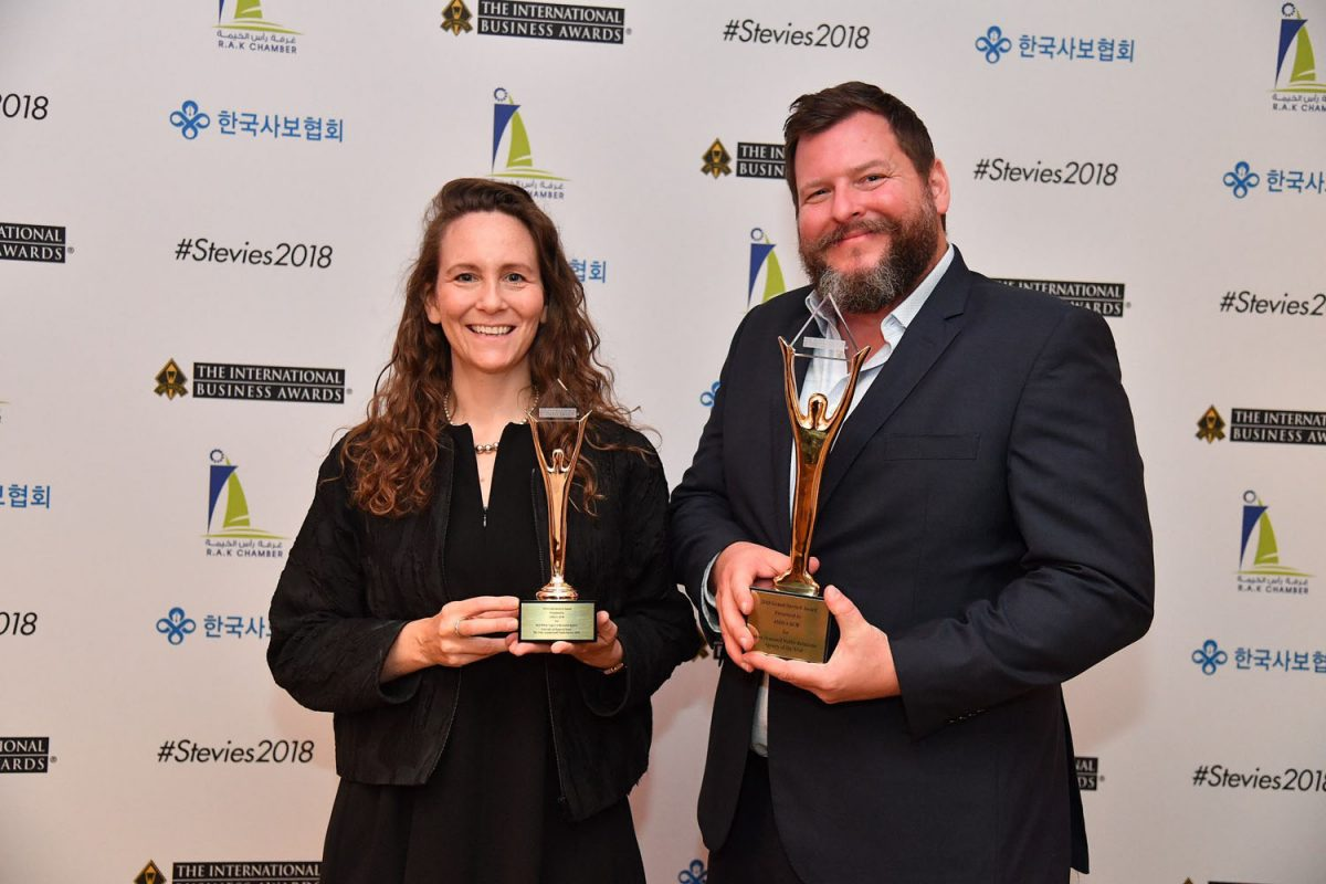 ASDAA-BCW-Chief-Strategy-Officer-Margaret-Flanagan-and-Senior-Director-Regional-Operations-Nathan-Wilson-collecting-the-awards-in-London.jpg