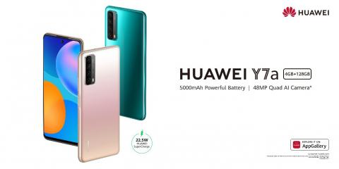 Huawei launches new HUAWEI Y7a in Lebanon