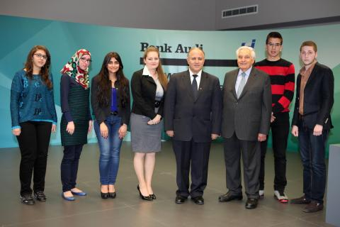 Bank Audi Finances Tuition Fees of 7 USJ Students
