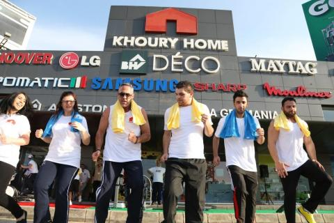 Khoury Home celebrates fitness month with exciting activities and tailored promotions