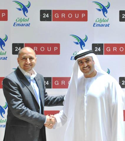 24GROUP signs exclusive contract with EMARAT to install LED digital advertising screens at its stations across Dubai