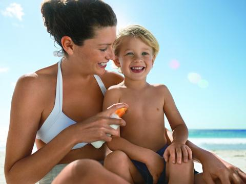 Safer Sun Protection for Children's Skin