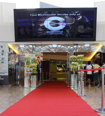 Grand Cinemas gives a whole new look to its multiplex at ABC Ashrafieh.