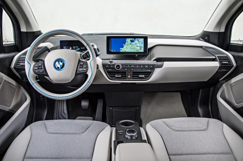 Next premium: BMW i3 wins Automotive Interiors Expo Award 2014.