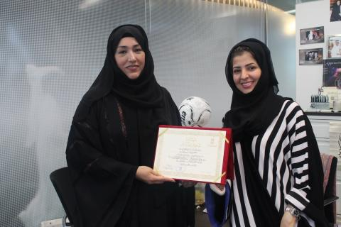 Al Nahda Women's Association thanks Al Hilal Bank for financing exclusive Mass Wedding for 10 Emirati couples