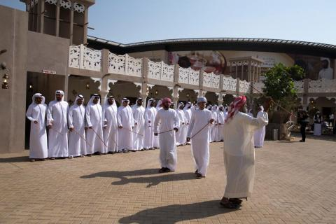Handicrafts depicting Emirati folklore and culture take center stage in DWHC's Heritage Village