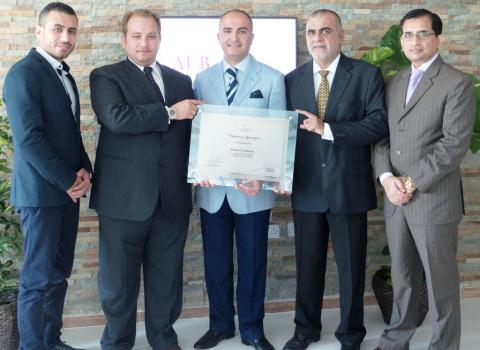 Al Basel Consultancy receives a Certificate of Appreciation for 'Suite Night Productivity'