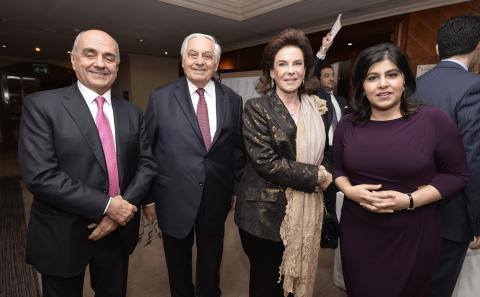 Raymond Audi Receives Banker of the Year Award From London's Arab Bankers Association