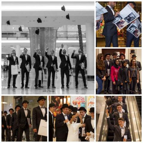 Hackett London Takes Tea-Time to Bahrain