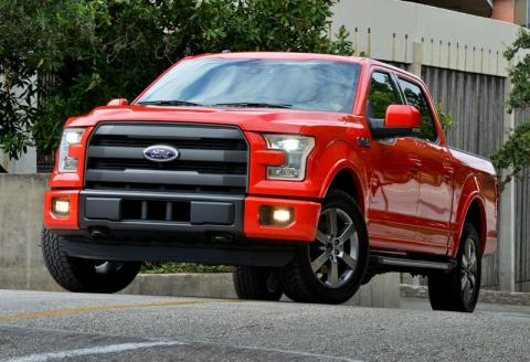 All-New Ford F-150 Named Official Vehicle of 2015 International CES