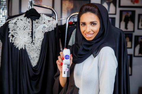NIVEA partners with Sara Al Madani for its NIVEA Invisible Black & White deodorants