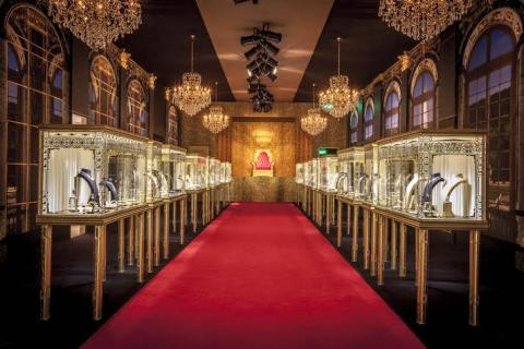 Château de Versailles comes alive in Dubai at the exclusive unveiling of Cartier's   Royal collection of High-jewelry