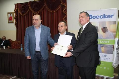 Boecker® and Dekwaneh Municipality grant 19 restaurants the Excellence Certificates for Food Establishments