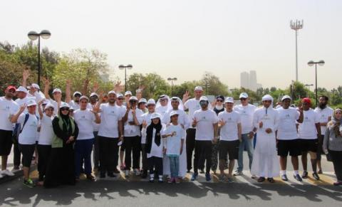 'Walking for Better Health' initiative draws in more than 200 participants