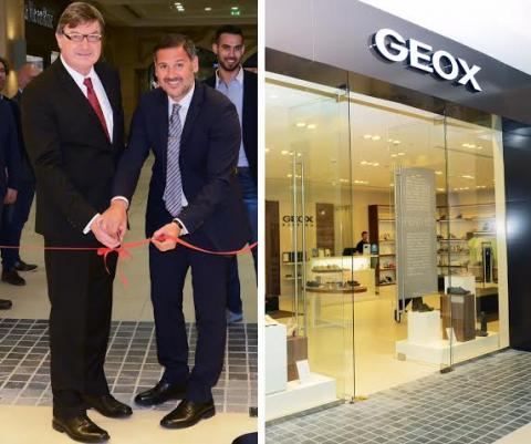Opening of a new Geox store in Lebanon!
