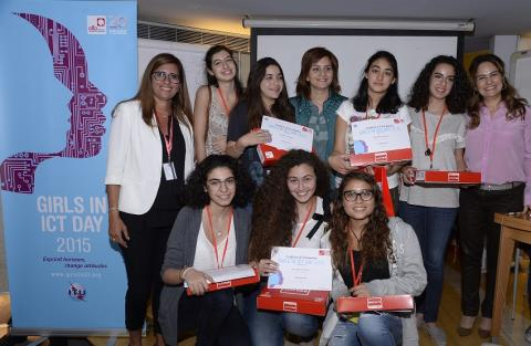 Alfa celebrates International Girls in ICT Day for the third year with the participation of female students from several schools who competed on technological innovation
