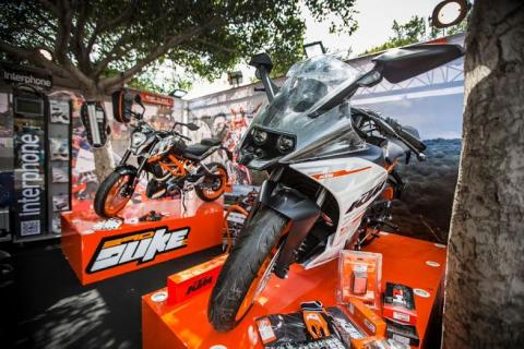 ANB Motorcycles takes the motorcycle experience to Men's World Exhibition 2015