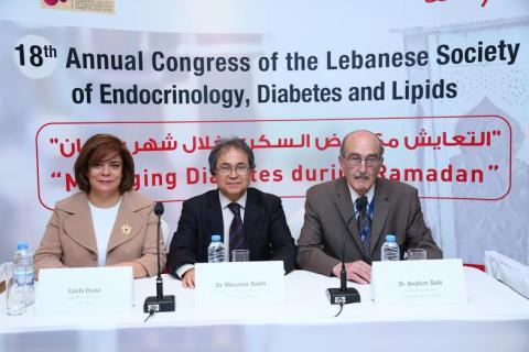 The Lebanese Society of Endocrinology Diabetes and Lipids  and Lilly support education initiatives for people with diabetes who choose to fast during Ramadan