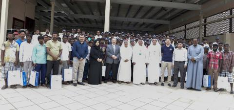 Under Dubai Maritime Training Center awareness campaign  DMCA collaborates with Dubai Custom's fishermen harbours to launch Fishermen Safety Training Series
