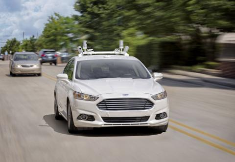 Ford Targets Fully Autonomous Vehicle for Ride Sharing in 2021; Invests in New Tech Companies, Doubles Silicon Valley Team