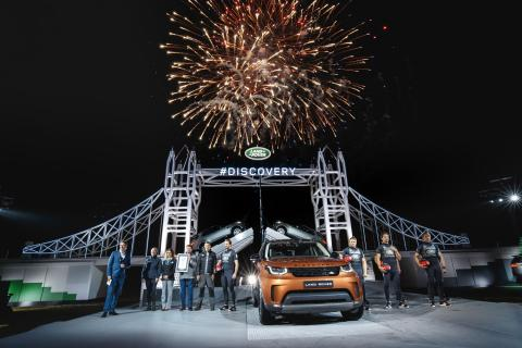 REVEALS, WORLD RECORDS, GREEN LIGHTS AND CHEQUERED FLAGS: JAGUAR LAND ROVER TAKES CENTRE STAGE IN PARIS