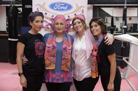 Ford's Warriors in Pink Dedicated to Fueling the Spirit of Breast Cancer Survivors