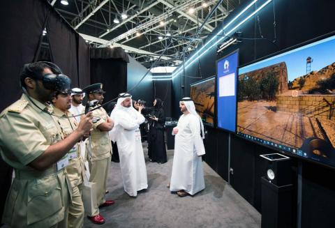 TRA showcases capabilities of Augmented Reality technology at its Future Section stand in GITEX 2016