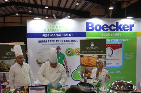 Boecker® participates in the Cooking Festival 2016 As the safety and hygiene reference in the Middle East