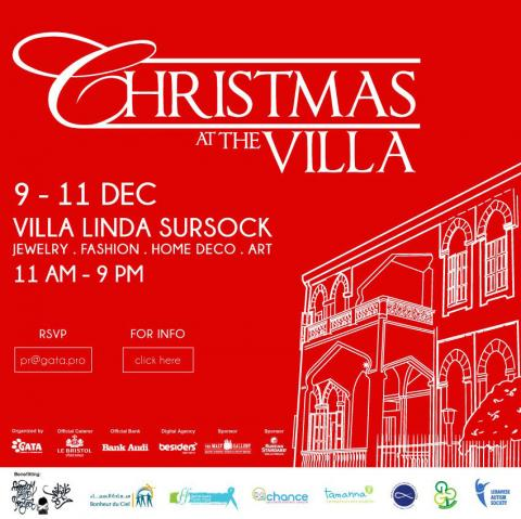 Christmas at the Villa Brings Elegance & Philanthropy under One Roof for the Third Year at Villa Linda Sursock