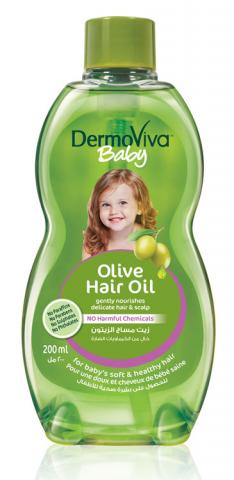 Product Placement- DermoViva Olive Baby Hair Oil