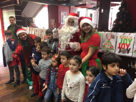 For the second year in a row, BURGER KING® Lebanon throws a fun event for children to celebrate the Christmas festive season