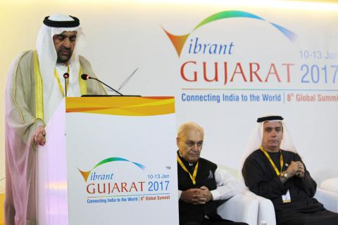 United Arab Emirates participates in Vibrant Gujarat Global Summit 2017