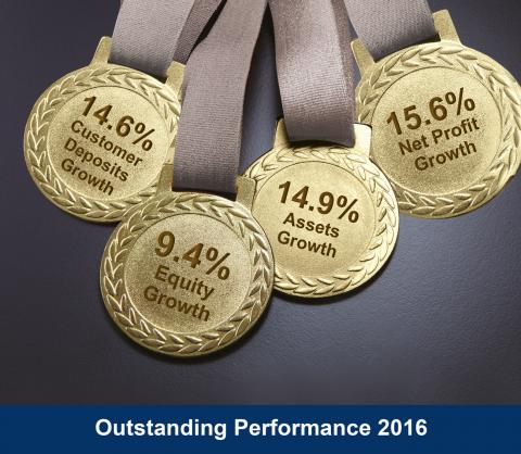 LGB BANK achieves a Remarkable financial performance and a balanced record growth for 2016