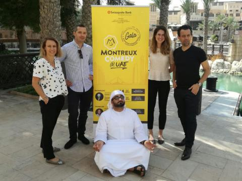 Montreux Comedy Festival brings international comedians to the UAE for an unforgettable night of laughter