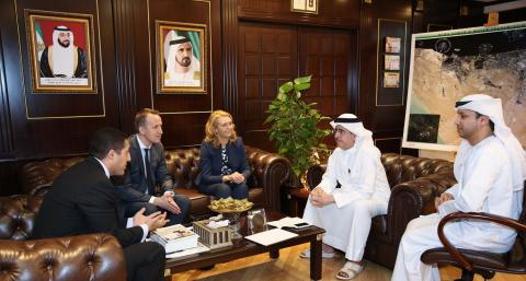 MD & CEO of DEWA receives Ericsson delegation
