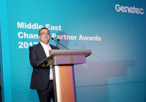 Genetec holds gala ceremony to honor its top performing  Middle East channel partners