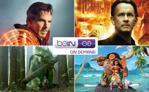 beIN expands entertainment portfolio through launch of on-demand services and seven new channels