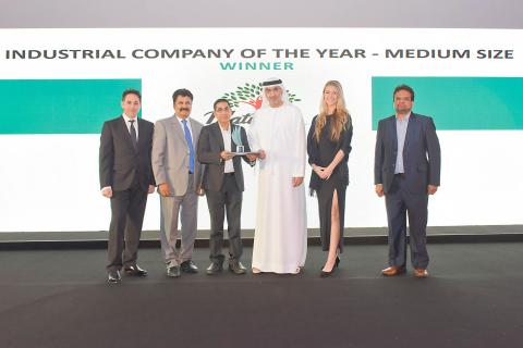 Dabur International wins at Ras Al Khaimah Free Zones Business Excellence Awards 2016