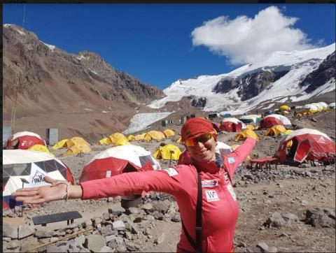 TAKING LEBANESE WOMEN TO NEW HEIGHTS: JOYCE AZZAM CONQUERS SUCCESSFULLY MOUNT ACONCAGUA IN ARGENTINA