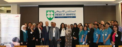 American Hospital Dubai hosts public awareness campaign to promote the use of infant car seats