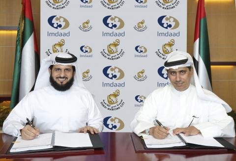 Imdaad signs AED 4-million integrated facilities management contract with Dubai Maritime City