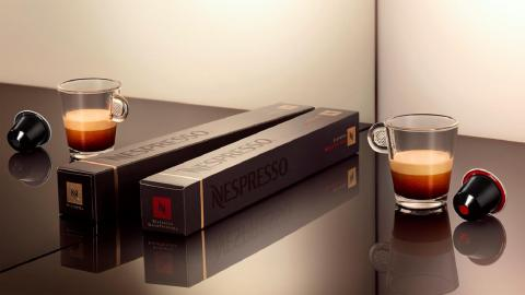 THE GREAT TASTE & INTENSITY OF NESPRESSO RISTRETTO, DECAFFEINATED