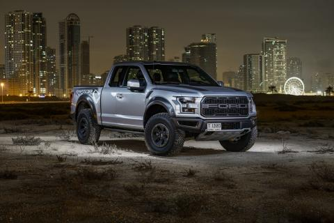 Lean, Mean, and Ready to Scream: All-New 2017 F-150 Raptor Charges into the Middle East as Ford's Toughest, Smartest and Most Capable Truck for Ultimate Off-road Performance
