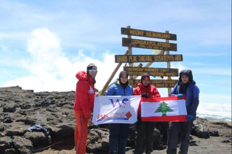 Joyce Azzam's trip to highest peak in Africa gives new generation of Lebanese females the right boost