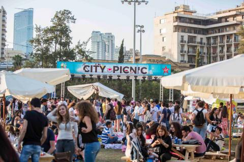"""City Picnic"" adds life to Beirut bringing families and friends together"