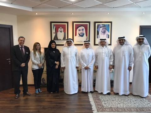 Ministry of Health & Prevention receives delegation from Saudi Center for Organ Transplantation
