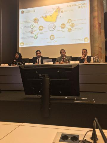 Ministry of Health and Prevention presented its Healthcare IT Journey at WSIS in Geneva