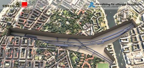 Complete Lifecycle BIM Approach Enables Efficient Collaboration and Approvals for Stockholm Metro Extension