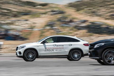 A Thrilling Experience During the first Mercedes-AMG Performance Tour in Lebanon: Adrenaline Like No Other