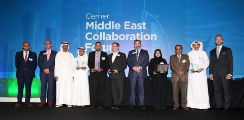Cerner Middle East Unveils 2017 Achievement and Innovation Award Winners